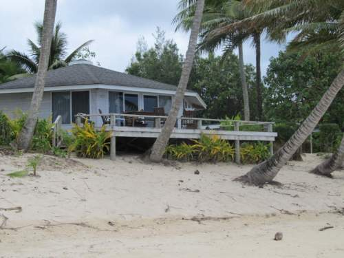 nice house on beach